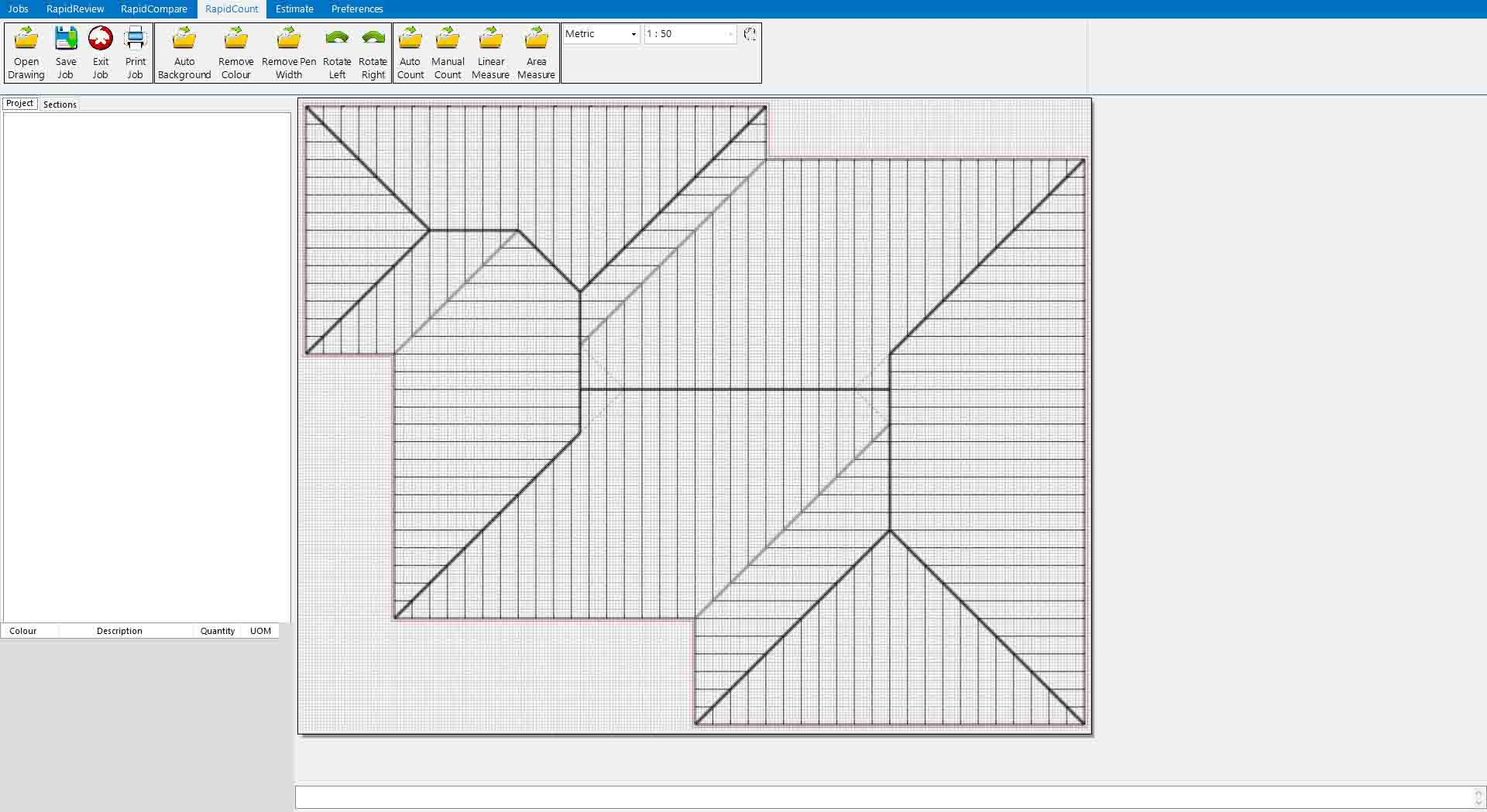 Roofing estimating takeoff software free demonstration for Roof drawing software
