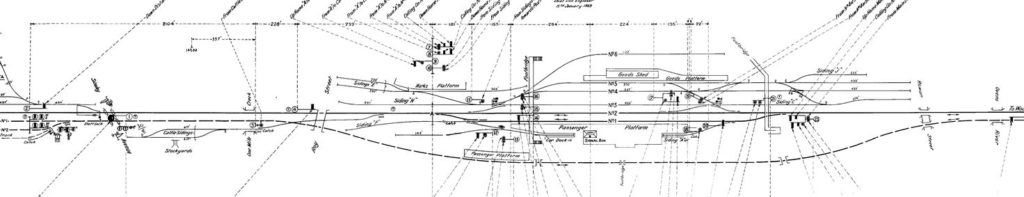 rail plan drawing